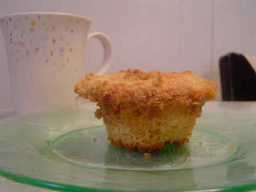 Allspice Crumb Muffin Breakfast