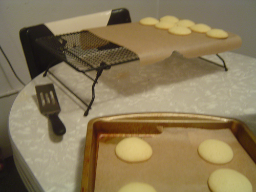 Black and White Cookies - cakelike cookies