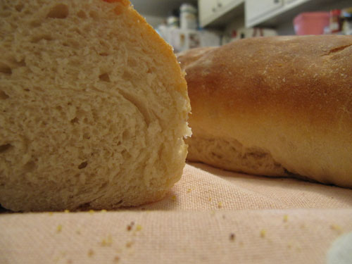 French-Bread-Sliced