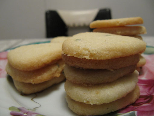 Lemon-Rosemary-Shortbread - Stacked