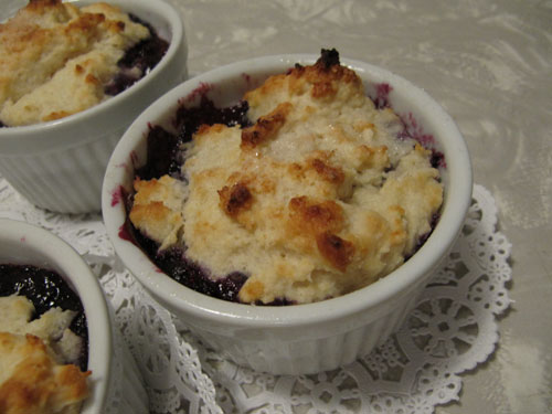 Blueberry-Cobbler---Baked