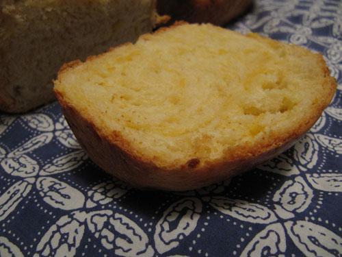 Cheddar Bread - End Slice