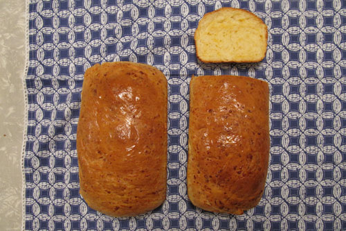 Cheddar Bread - Sliced